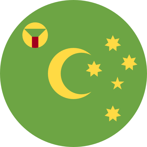 Cocos (Keeling) Islands flag