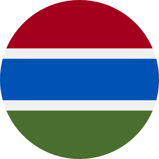 Gambia The flag
