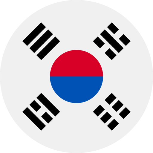 Korea South flag